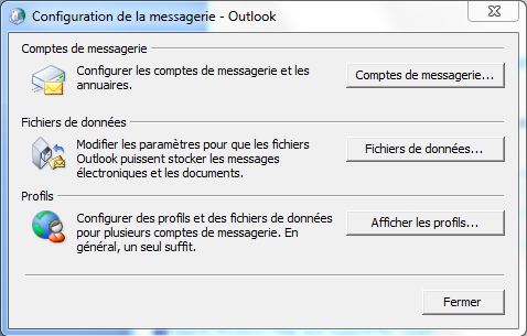 Configurer Outlook 2007 en synchronisé étape 6