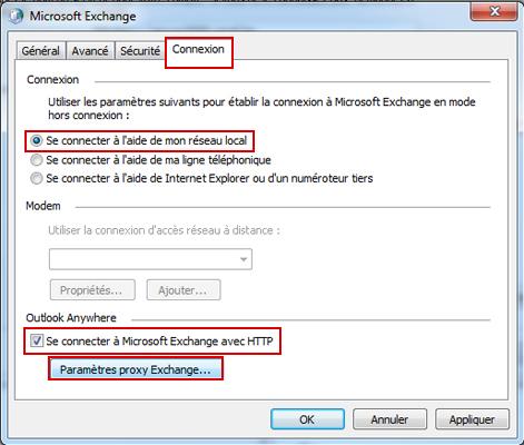 Configurer Outlook 2010 en synchronisé étape 13