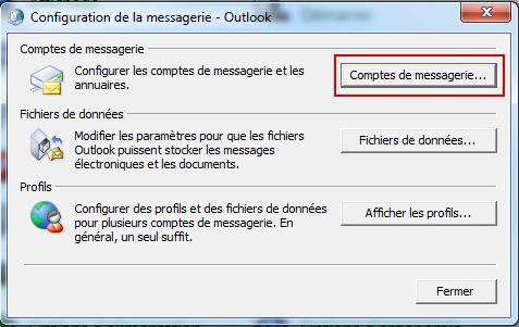 Configurer Outlook 2010 en synchronisé étape 7