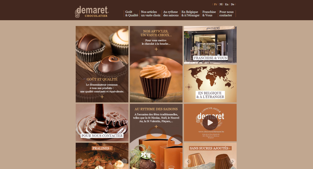 Chocolatier Demaret