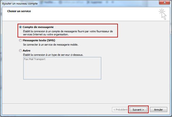 Configuration email d'un Outlook 2010 en POP3 part 3