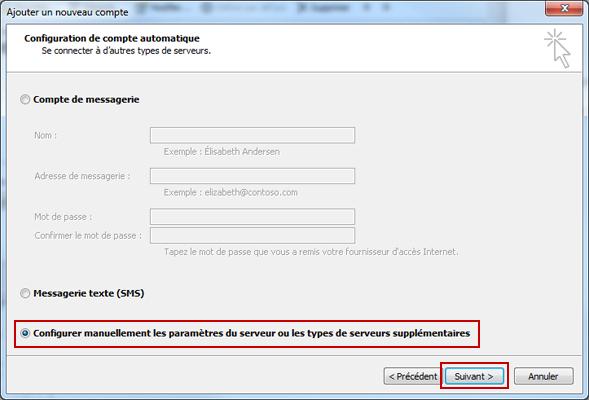 Configuration email d'un Outlook 2010 en POP3 part 4