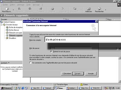 Configuration email d'un Outlook Express en POP3 part 6