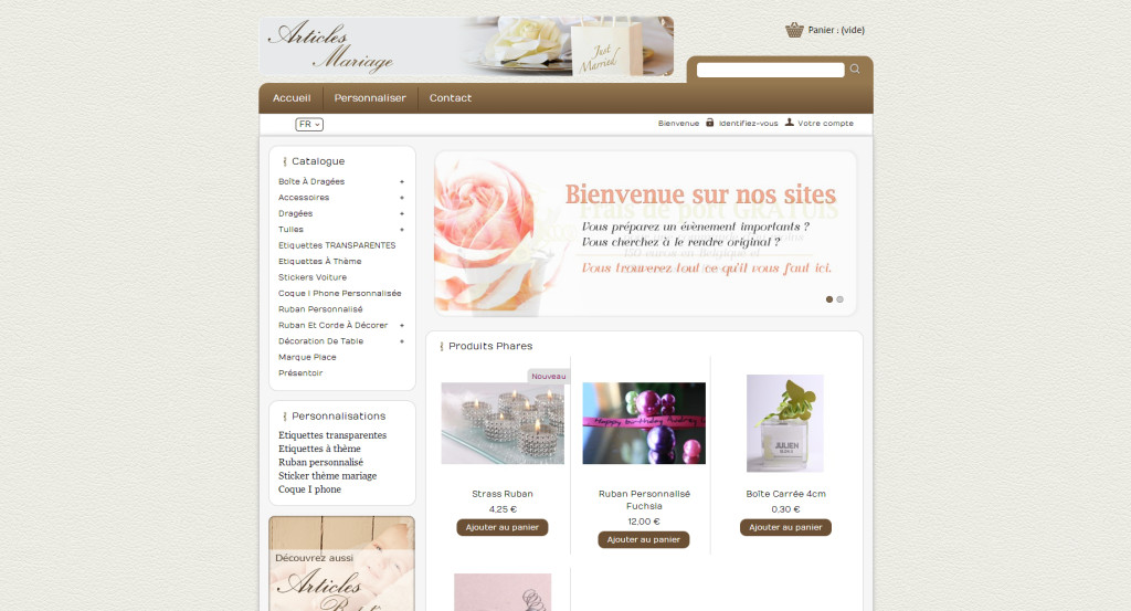 Articles mariage