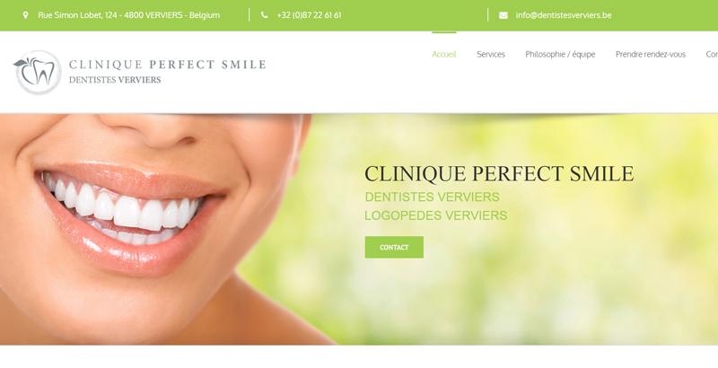 Clinique Perfect Smile – Dentistes Verviers
