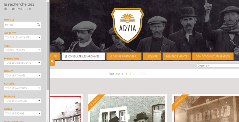 Arvia Archive de Herve